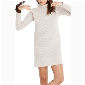 NWT Madewell Skyscraper Sweater Dress Size Small